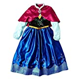 Disney Frozen Anna Big Girls' Deluxe Costume