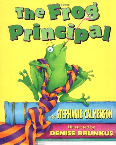 The Frog Principal by Brand: Scholastic Press (Image #1)