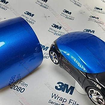 3M 1080 Gloss Blue Fire   G337   Vinyl CAR WRAP Film (Sample 2.5in x 4in)