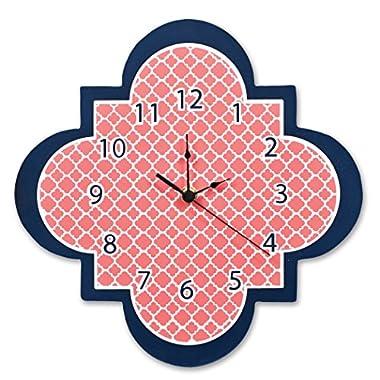 Trend Lab Quatrefoil Wall Clock, Multi