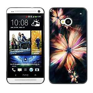 Dragon Case - FOR HTC One M7 - Love makes man grow up - Caja protectora de pl??stico duro de la cubierta Dise?¡Ào Slim Fit