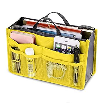 2aa6ad187 Image Unavailable. Image not available for. Color  Purse Pouch Organizer - New  Women s Fashion Bag in Bags Cosmetic Storage Organizer Makeup Casual Travel