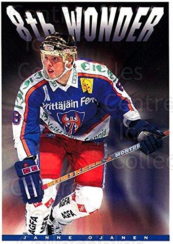 fan products of (CI) Janne Ojanen Hockey Card 1994-95 Finnish Tappara Tampere Postcards 7 Janne Ojanen