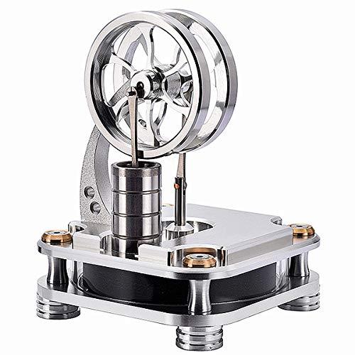 MOTECH Low Temperature Stirling Engine Motor Model, Steam Power Model Scientific Mechanic Model Kit(D16-C)