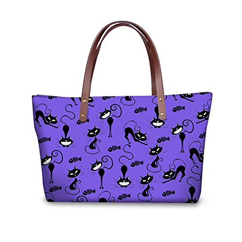 V6lcc3419al Handbags Casual Bages FancyPrint Tote Women Fruit Print wFxqAW8z60
