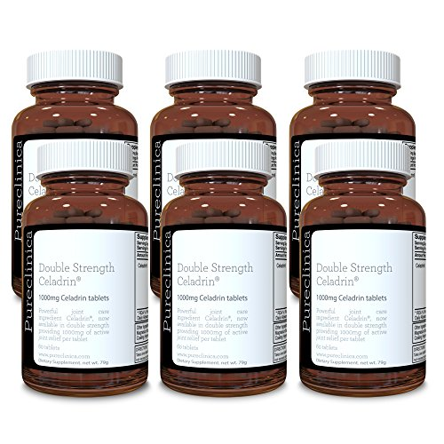 Double Strength Celadrin® - 12 month supply! (1000mg x 360 tablets) 6 bottles for a specially reduced price! SKU: CEL3x6 by Pureclinica