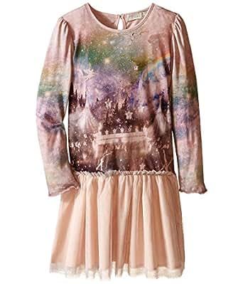 Stella McCartney Kids Girl's Primrose Fantasy Circus Dress w/Tulle Skirt (Toddler/Little Kids/Big Kids) Pink Dress 14 (Big Kids)
