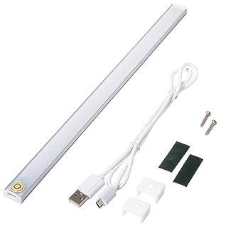 XCSOURCE Ultra Thin Dimmable Touch Sensor 21 LED Light Bar Under Cabinet  Lamp Wardrobe Light Strip