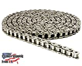 41NP Nickel Plated Chain 6 Feet with 1 Connecting Link Corrosion Resistant
