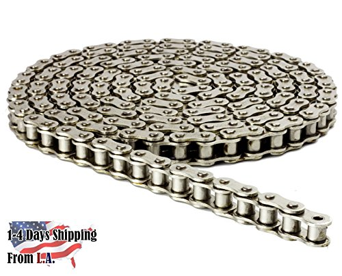 (41NP Nickel Plated Chain 5 Feet with 1 Connecting Link Corrosion)