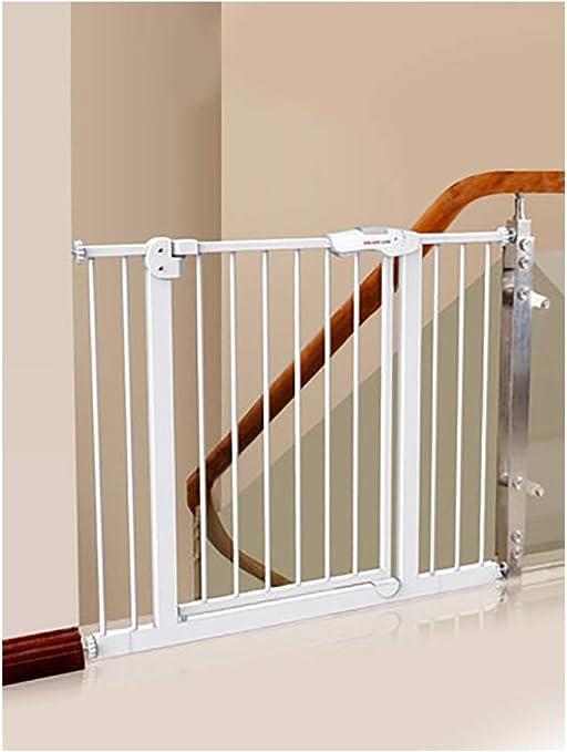 DYXT Puerta de Seguridad, Niño Pet Baby Gate, Puerta de Seguridad para Escaleras y Puertas Corte Libre,65/74cm ...