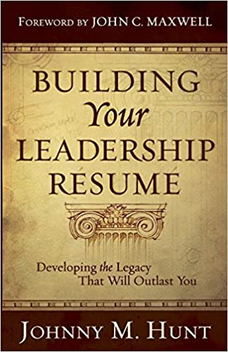 amazon building your leadership resume developing the legacy that