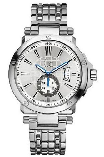 Guess Collection Mens GC Watch X65001G1S Quartz Silver
