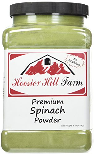 Hoosier Hill Farm Pure Spinach Powder, 1 Pound by Hoosier Hill Farm
