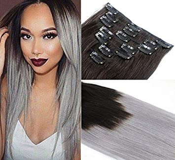 Amazoncom Romantic Angles Remy Clip In Human Hair