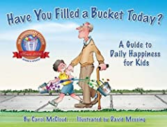 """""""Children are not the only ones that need to learn how to be truly happy. It's all in the bucket, that invisible bucket that follows you everywhere. . . teaches young readers valuable lessons about giving, sharing, and caring. This guide to d..."""