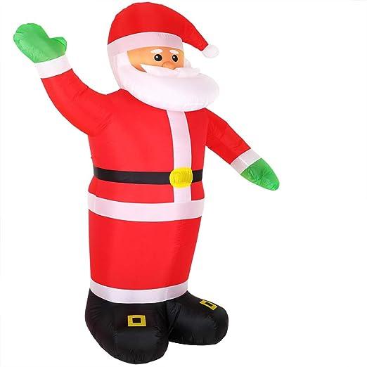 Monzana Papá Noel hinchable inflable de 250 cm decoración de ...