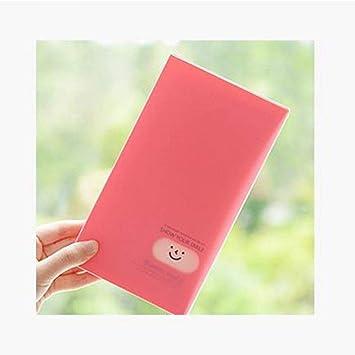 Amazon.com: 120 ranuras portátil cara sonriente, tarjeta de ...