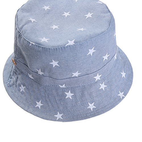 e1d1185b06e Baby Sun Hat with Chin Strap - Unisex Toddler Summer Play Reversible Bucket  Hat UPF 50