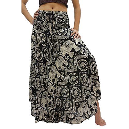iHHAPY Women's UV Protect Beach Skirts Full Skirt