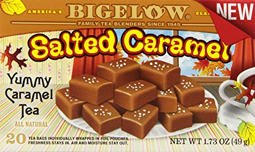Bigelow Salted Caramel, 20 Count (Pack of 6)