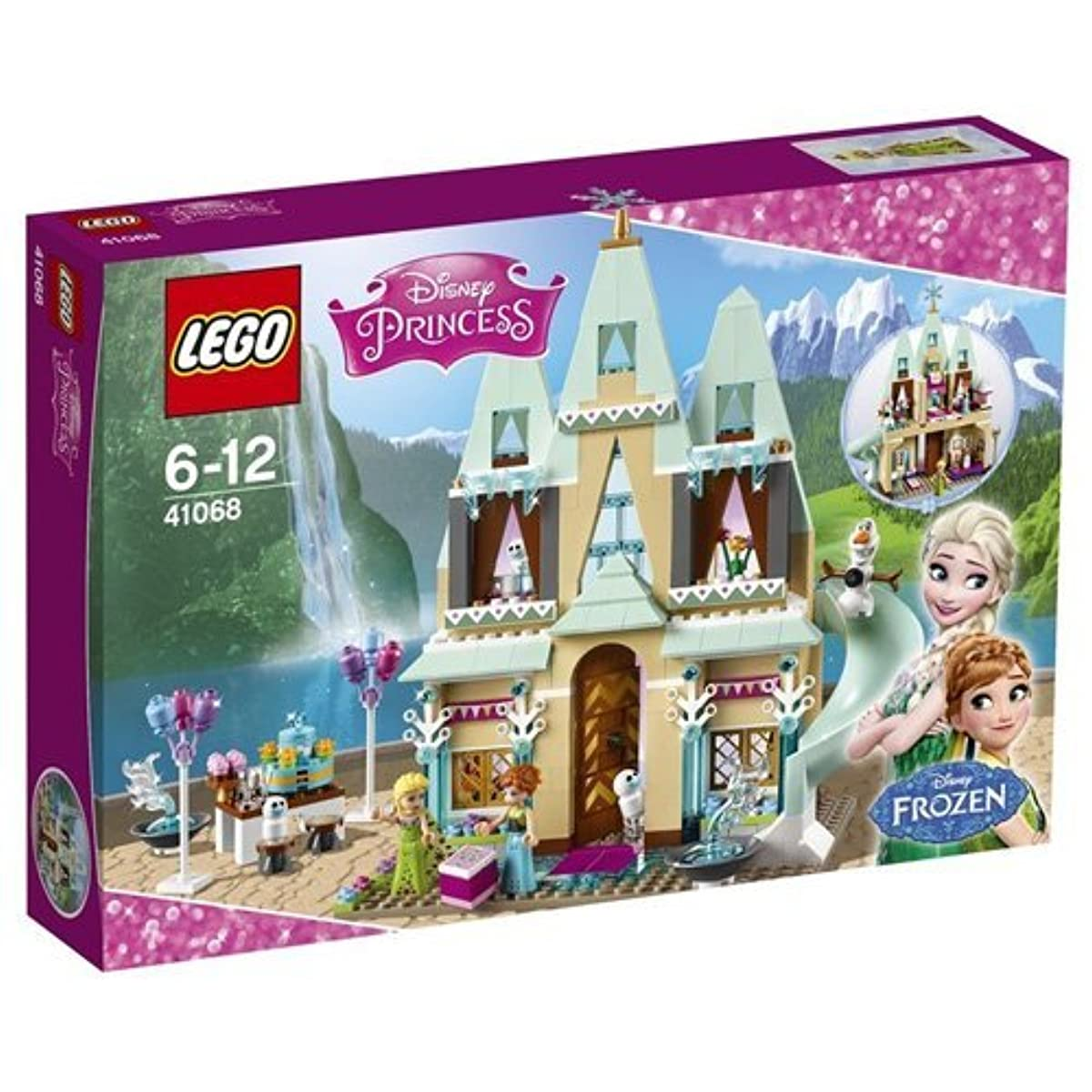 [레고 디즈니공주] LEGO (LEGO) Disney Princess Anna and Elsa of Allendale Castle 41068