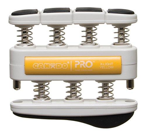 CanDo Pro Hand Exerciser, X-Light Yellow by Cando