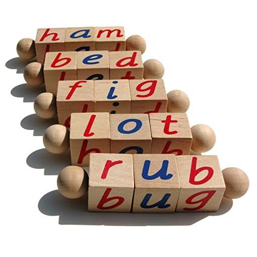 The Original Montessori Phonetic Reading Blocks - Made in ...