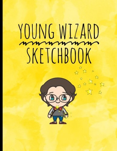 Young Wizard Sketchbook: 8.5