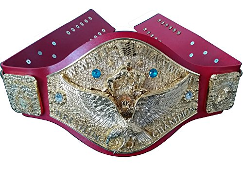Fandu Belts WWWF Mulka-style Heavyweight Wrestling Title Belt Championship 7.7lbs by Fandu Belts