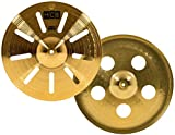 Meinl Cymbals HCS14TRS 14'' HCS Brass Trash Stack Cymbal Pair for Drum Set (VIDEO)