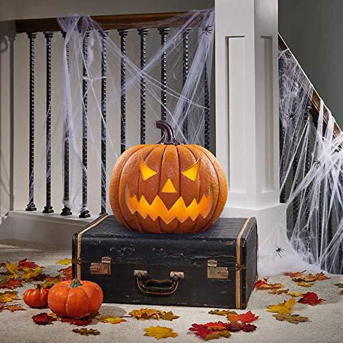 Lighted Pumpkins For Halloween (BBT Halloween Decor 17