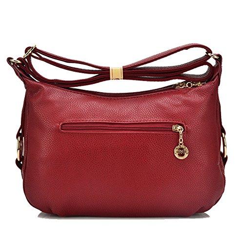 Main Red Femmes à Bandoulière Bag Messenger Sacs YUHEQI Pour Les Crossbody Sacs Et Sacs à 6xwX5zq6B