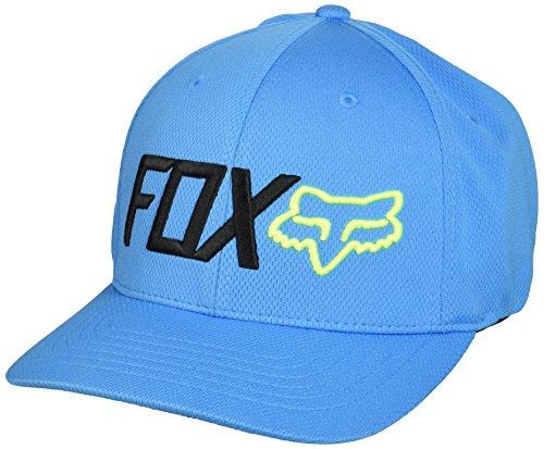 Fox Men's Trenches Flexfit Hat, Blue, Large/X-Large