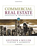 img - for Commercial Real Estate Analysis & Investments by David M. Geltner (2006-12-01) book / textbook / text book