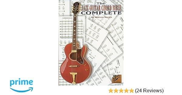 The Jazz Guitar Chord Bible Complete: Warren Nunes: 9780769279725 ...