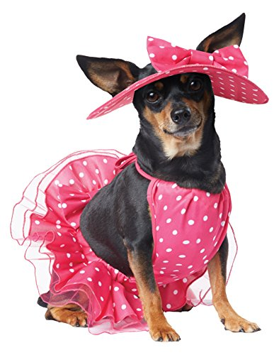 California Costume Collections Pretty in Pink Dog Costume, Large ()