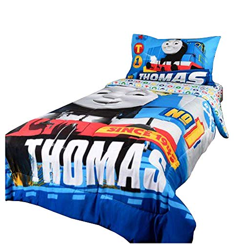 Thomas and Friend 4 Piece Twin Size Bedding Set - 86