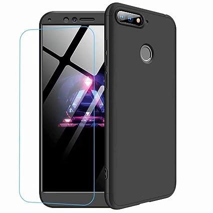 JJWYD Funda para Huawei Honor 9 Lite + Gratis Cristal Templado ...