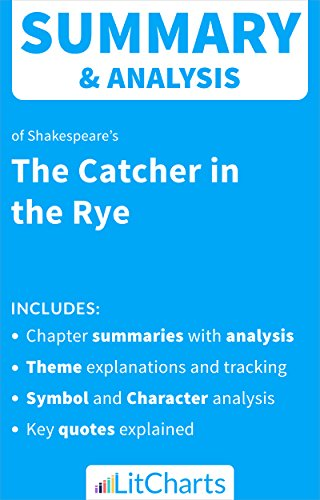 Amazon Summary Analysis Of The Catcher In The Rye By J D