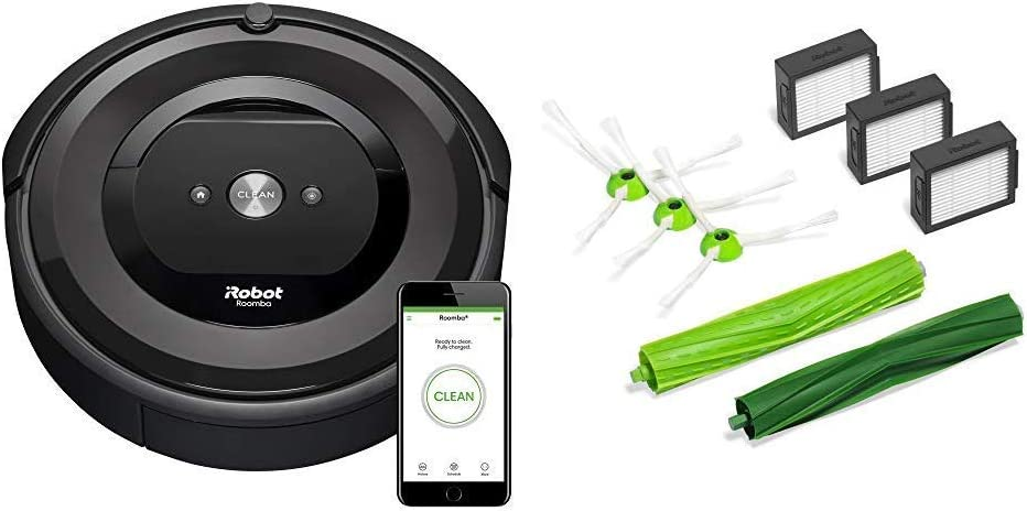 iRobot Roomba E5 (5150) Robot Vacuum with Roomba e and i Series Replenishment Kit