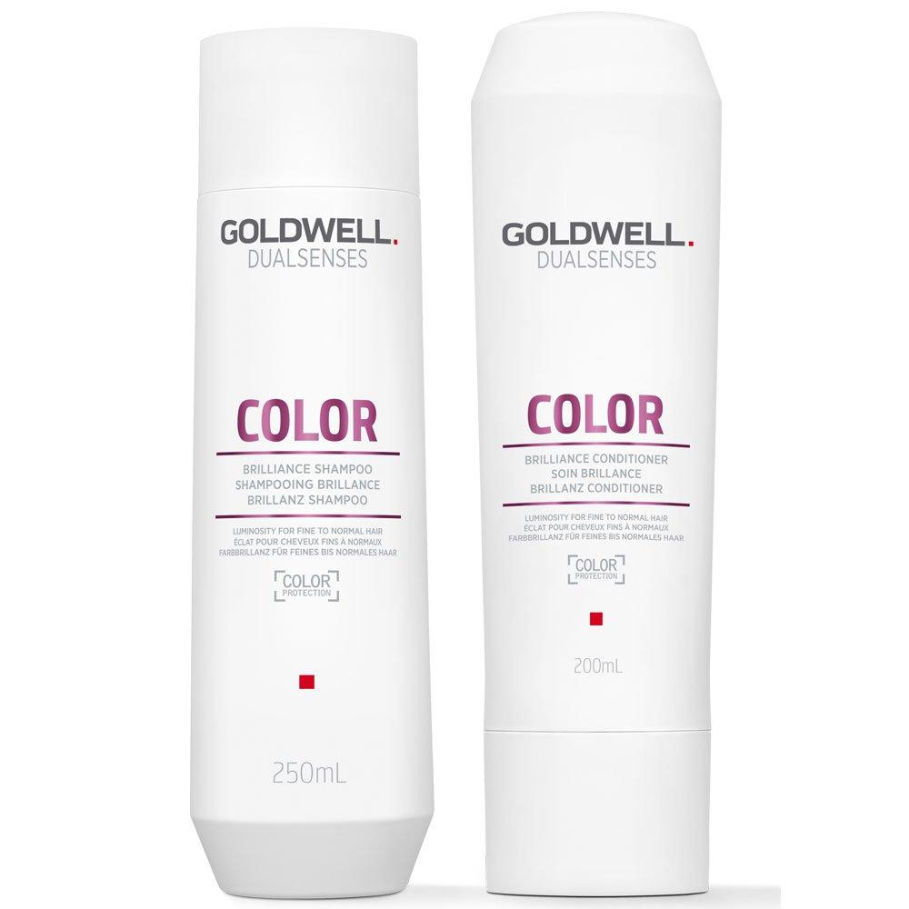 Goldwell Dualsenses color Brilliance shampoo 250ml e balsamo 200ml