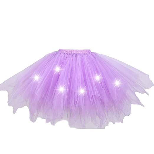 Tutú para mujer, falda de tul plisada de color caramelo irregular ...