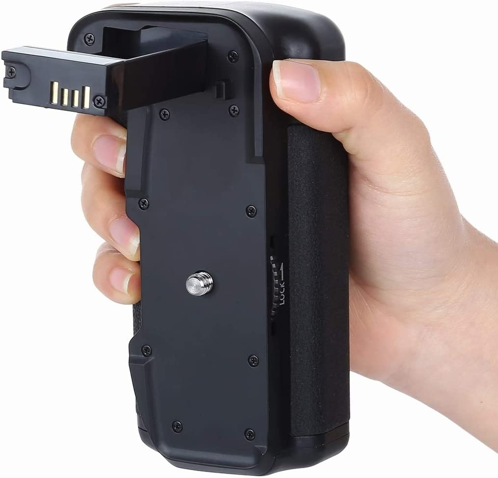 77D Durable JINGZ Vertical Camera Battery Grip for Canon EOS 800D //Rebel T7i