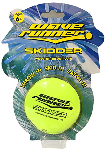 On The Water Pools (Wave Runner Water Bouncing Disc Great for Beach Pool Pond or Water Parks The Next level on water Bouncing Balls and Activities THROW IT! SKID IT! GRIP IT! CATCH IT! (Yellow))