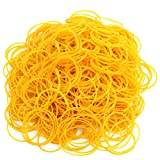 Wobe 2000pcs Rubber Bands, Bank Paper Bills Money Dollars Elastic Stretchable Bands, Sturdy General Purpose Rubber Band