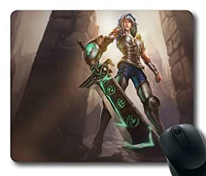 League of Legends Riven Game002 Rectangle Mouse Pad by eeMuse