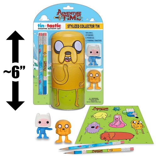 "Jake ~6"" Collector Tin & Creative Activity Set: Adventure Time x Funko Tin-Tastics Collector Set"