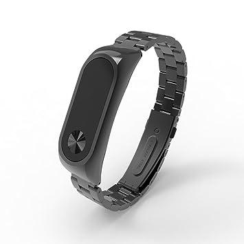 Correa de repuesto de Y56, para reloj pulsera inteligente Xiaomi Miband 2, de acero