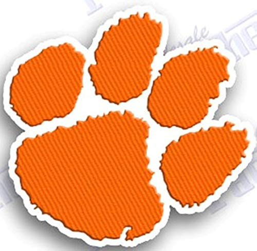 Ncaa University College Patch - CLEMSON TIGERS IRON ON EMBROIDERED EMBROIDERY PATCH PATCHES SCHOOL OF UNIVERSITY STATE COLLEGE NCAA FOOTBALL SPORTS